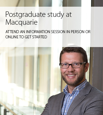 Postgraduate information sessions